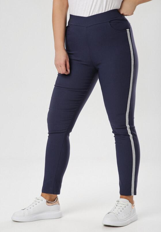 Granatowe Spodnie Shirinriane
