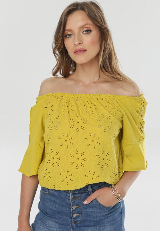 Żółta Bluzka Idariope