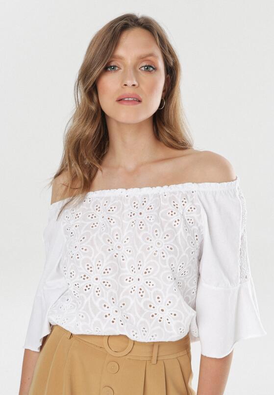 Biała Bluzka Idariope