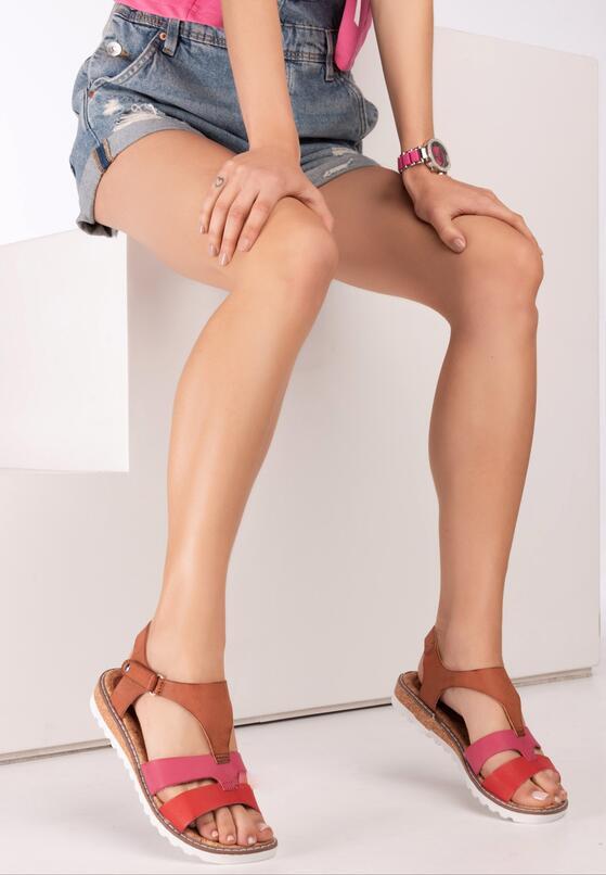 Czerwone Sandały Talina
