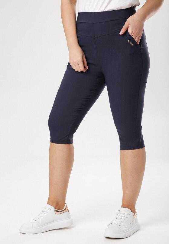 Granatowe Spodnie Aethepise