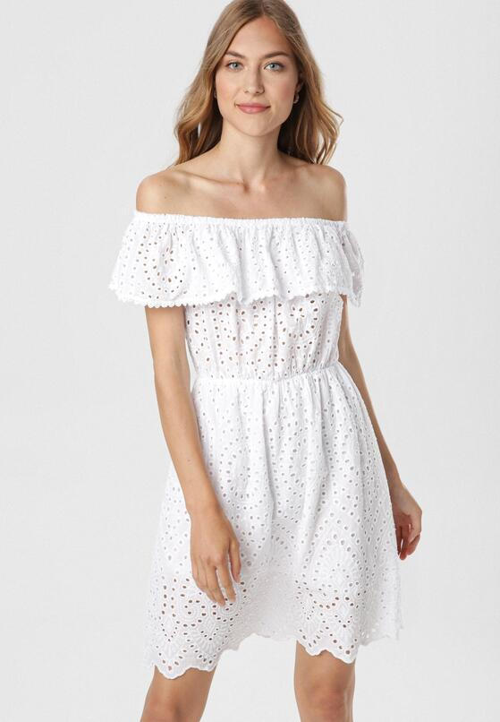 Biała Sukienka Arrilan