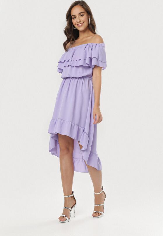 Fioletowa Sukienka Pheromeia