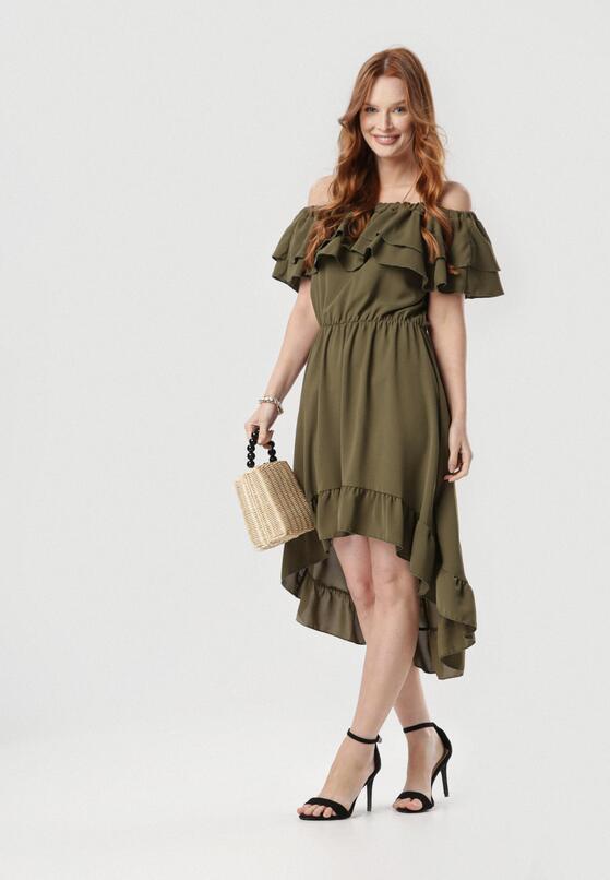Khaki Sukienka Pheromeia