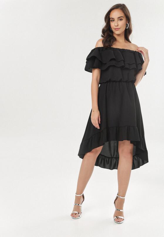 Czarna Sukienka Pheromeia