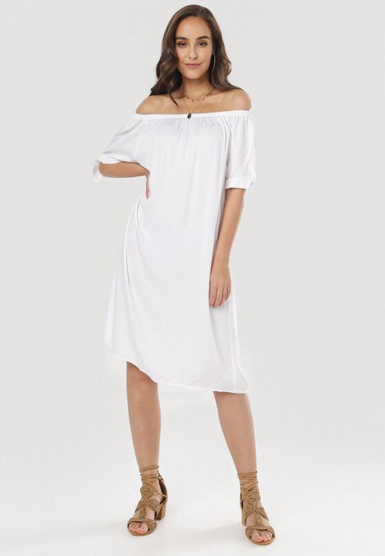 Biała Sukienka Jennibelle