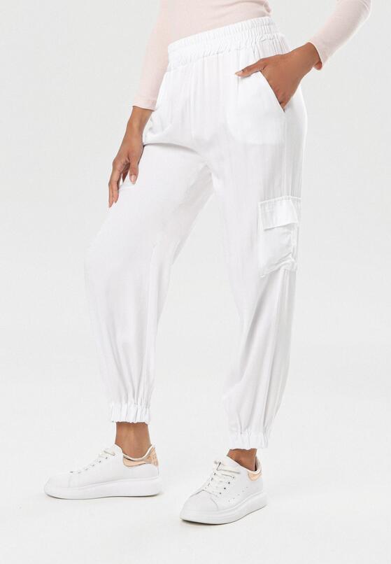 Białe Spodnie Molrope
