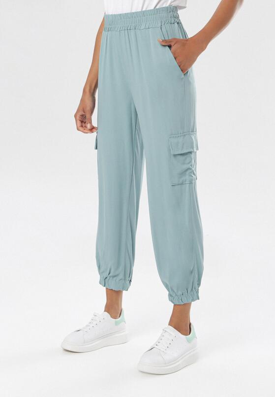 Miętowe Spodnie Molrope