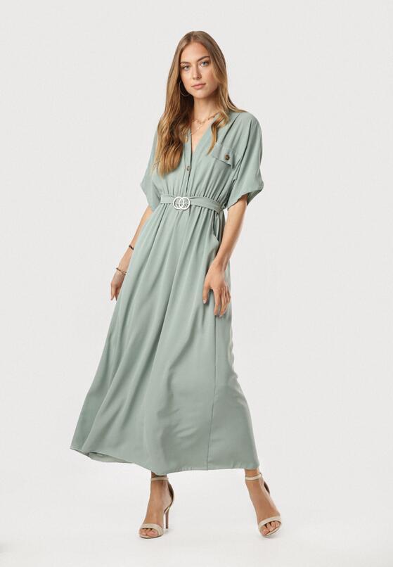 Miętowa Sukienka Kleomene