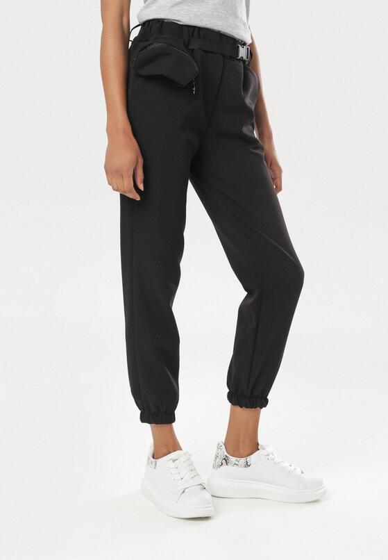 Czarne Spodnie Ariesieth