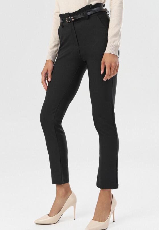 Czarne Spodnie Thelthine
