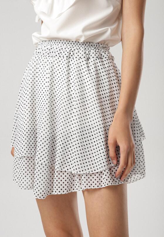 Biało-Niebieska Spódnica Mezelin