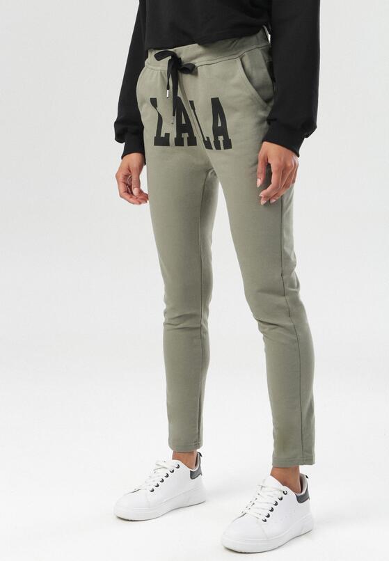 Jasnozielone Spodnie Tharith