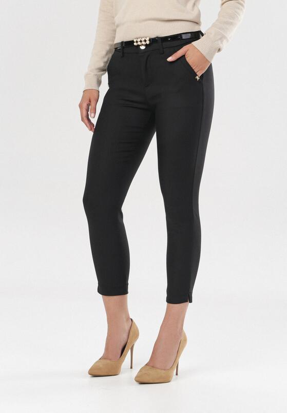 Czarne Spodnie Phislisa