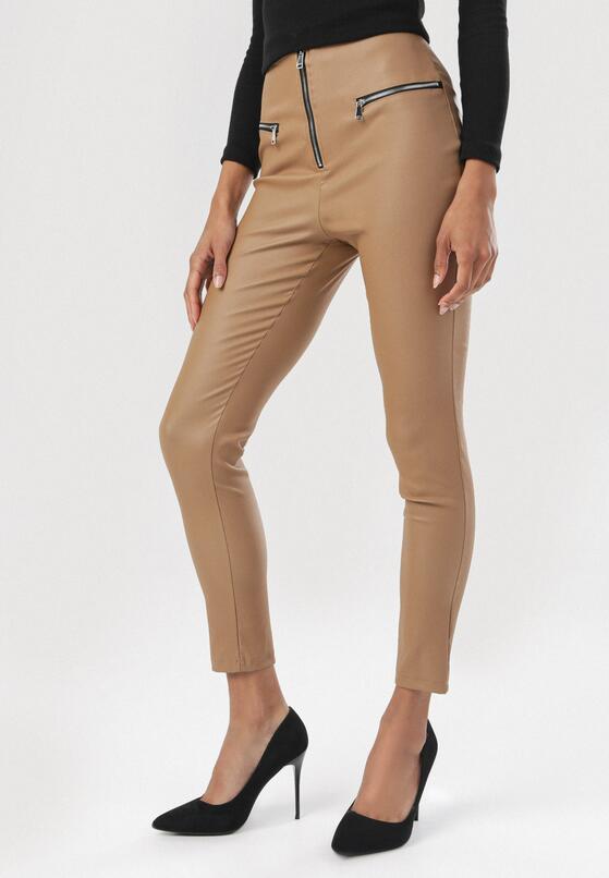 Camelowe Spodnie Cordalea