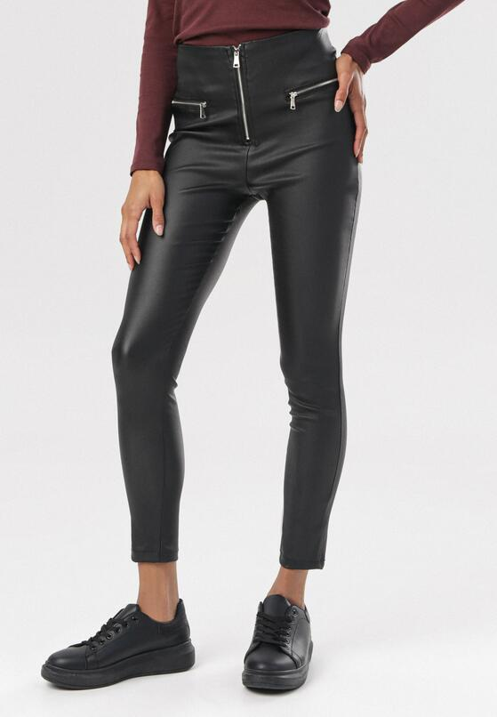 Czarne Spodnie Cordalea