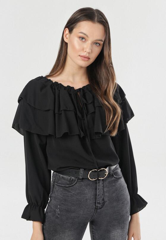Czarna Bluzka Penriane