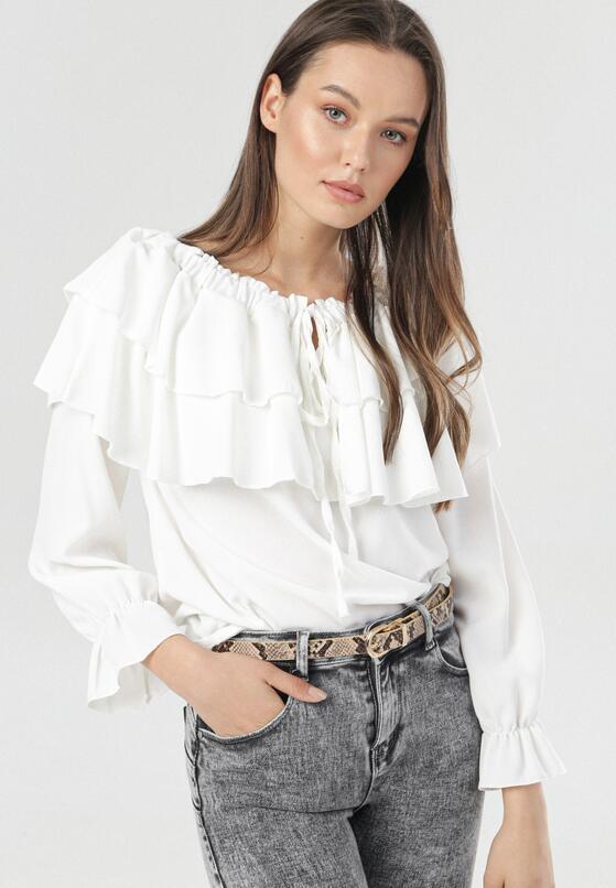 Biała Bluzka Penriane