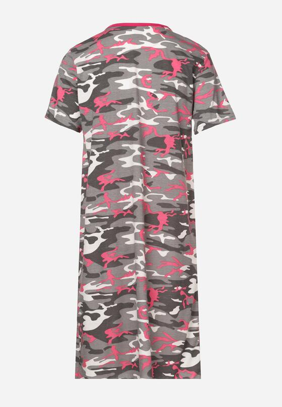 Różowa Koszula Nocna Eliteia
