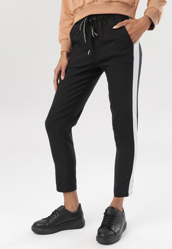 Czarne Spodnie Viviedah