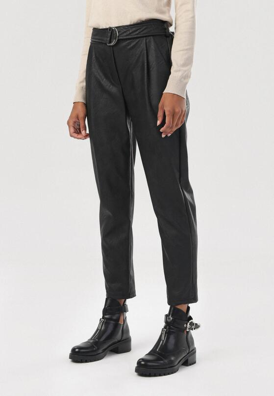 Czarne Spodnie Harelaya