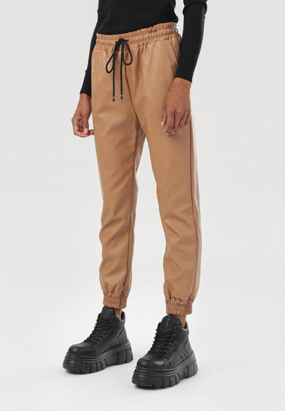 Jasnobrązowe Spodnie Rhelieth
