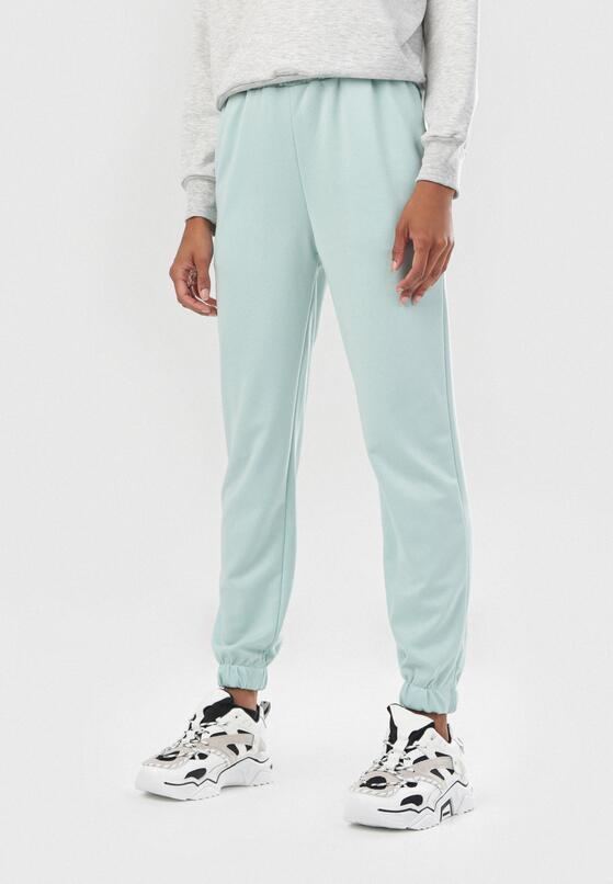 Miętowe Spodnie Tawney
