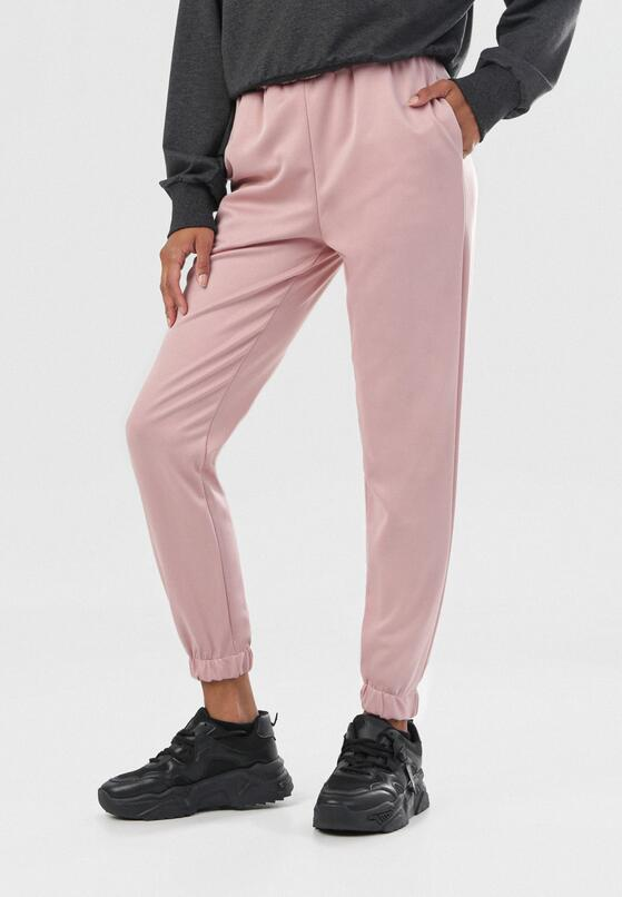 Ciemnoróżowe Spodnie Tawney