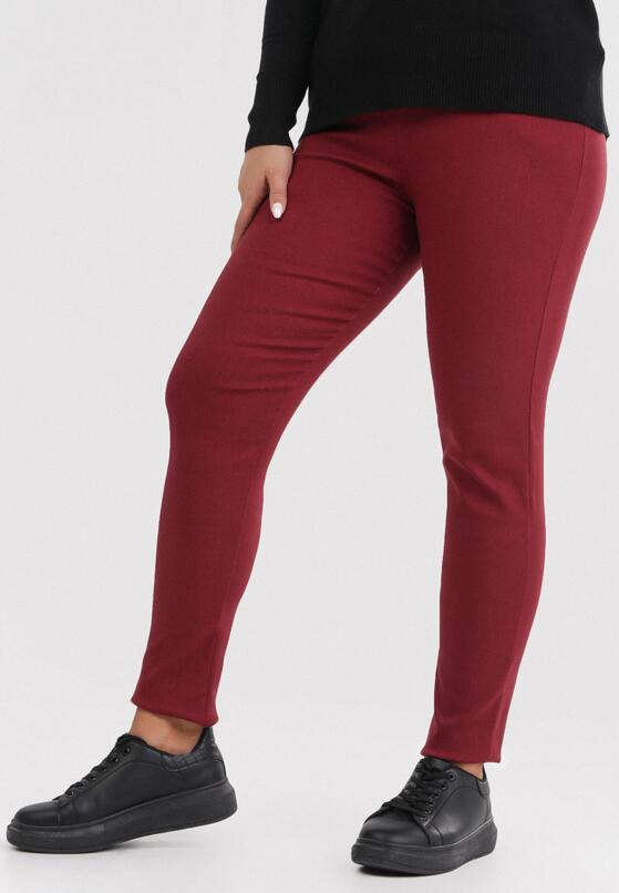 Bordowe Spodnie Eshirienne