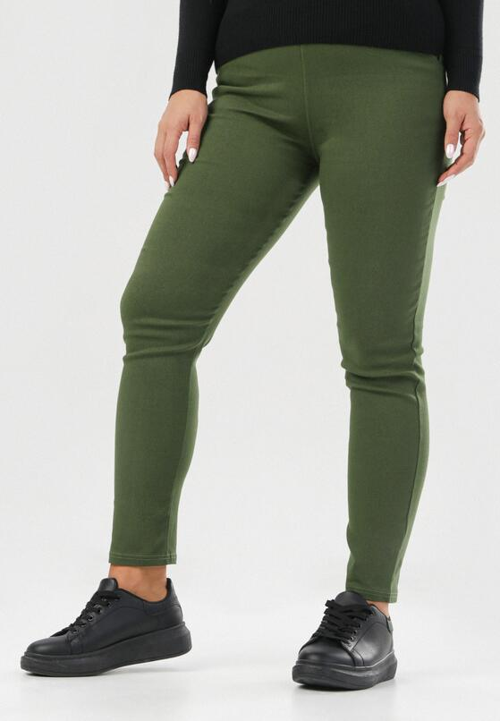 Ciemnozielone Spodnie Eshirienne