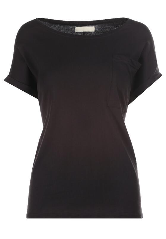 Czarny T-shirt Cedargrove