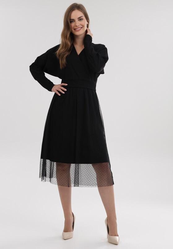 Czarna Sukienka Buckley