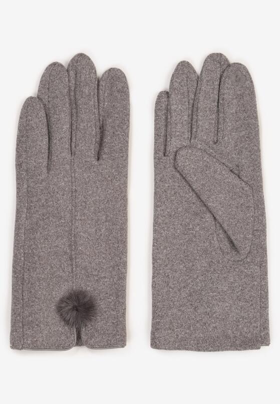 Szare Rękawiczki Norkaen