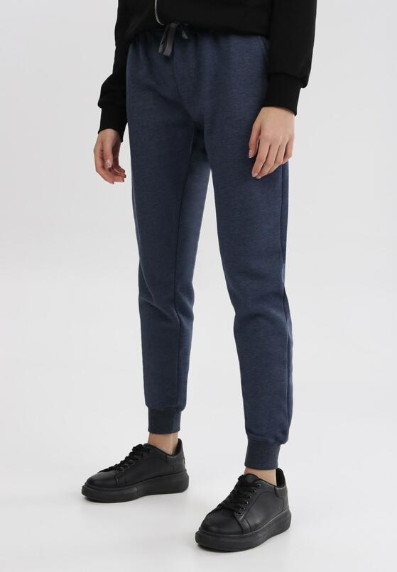 Granatowe Spodnie Starbelle