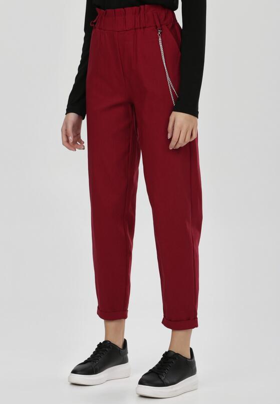 Bordowe Spodnie Sweetpearl