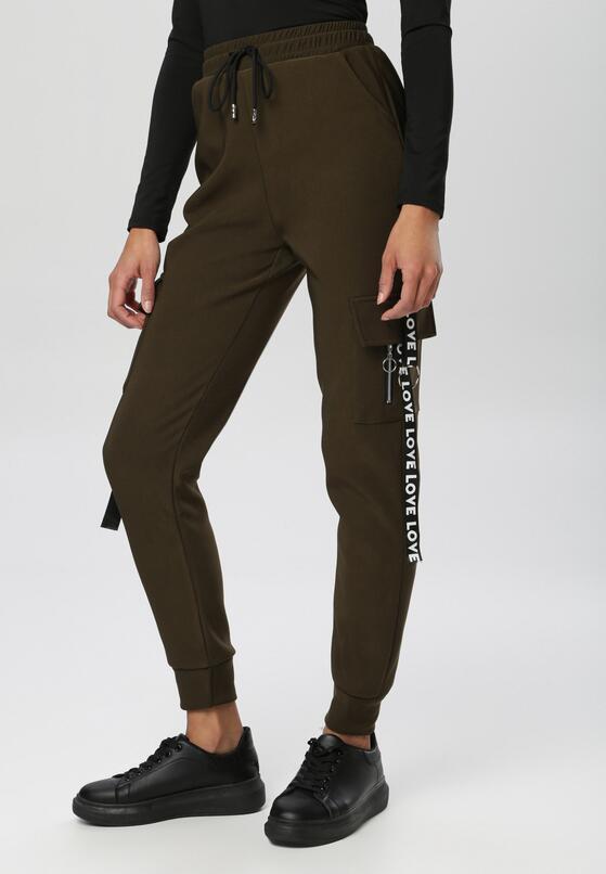 Khaki Spodnie Nesaphise