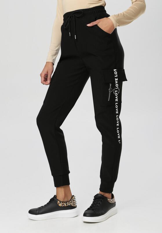 Czarne Spodnie Nesaphise