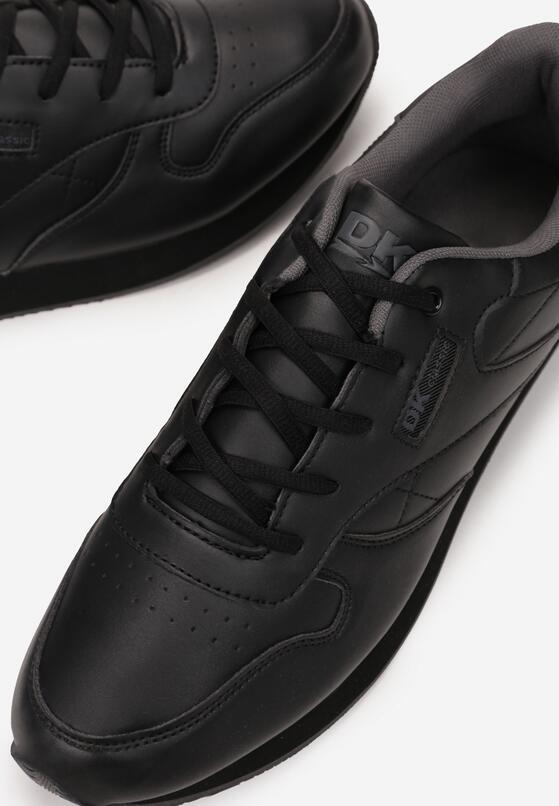 Czarne Buty Sportowe Phithylia