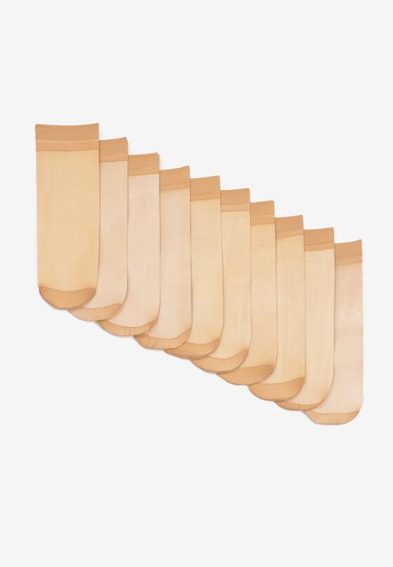 10-Pack Beżowych Skarpet Aroapheme
