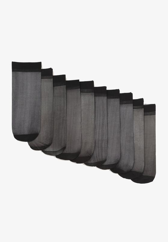 10-Pack Czarnych Skarpet Aroapheme