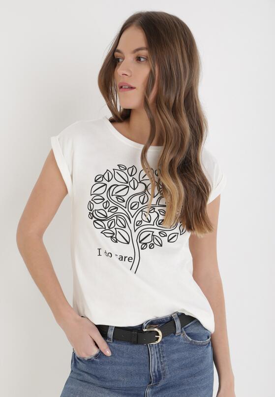 Beżowy T-shirt Phaiseilise