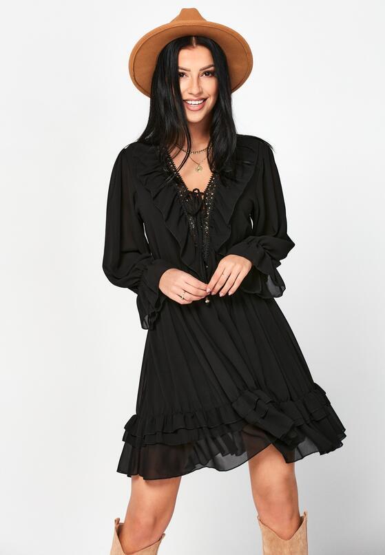 Czarna Sukienka Dorylia