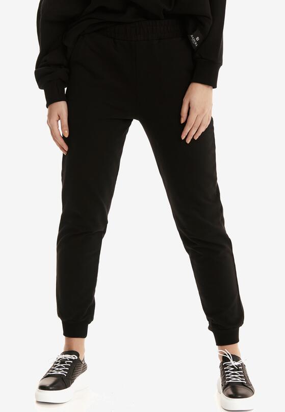 Czarne Spodnie Dresowe Aphusa