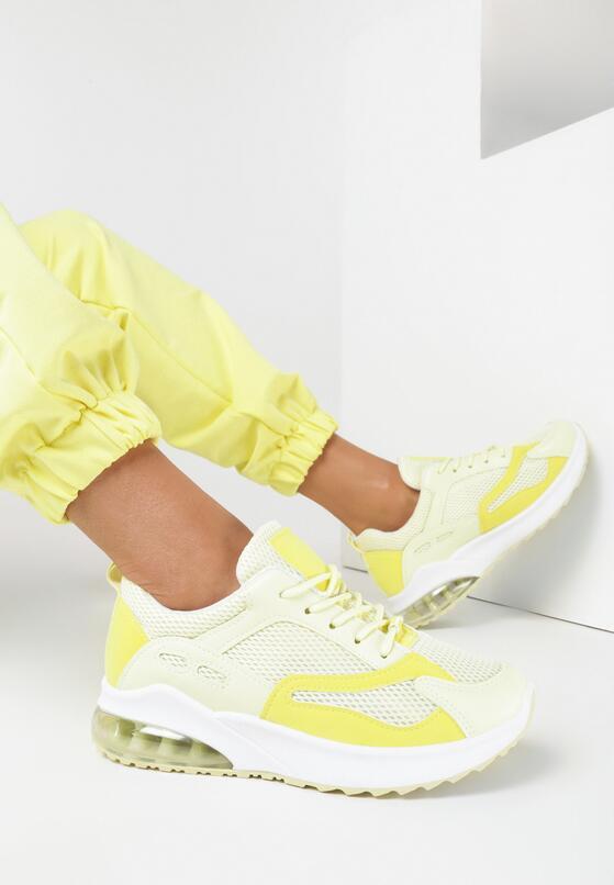 Żółte Sneakersy Wynstina