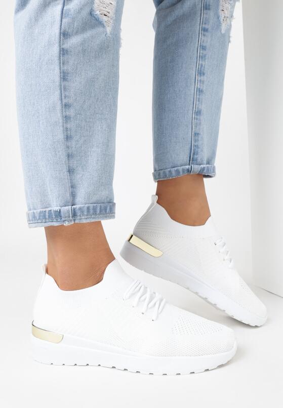 Białe Buty Sportowe Klephisha