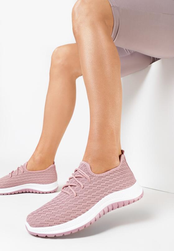 Różowe Buty Sportowe Vyloris