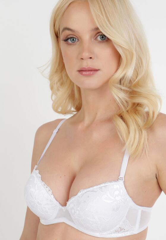 Biały Biustonosz Isirvienne