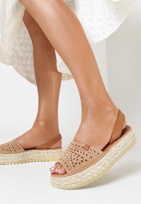 Beżowe Sandały Genineva