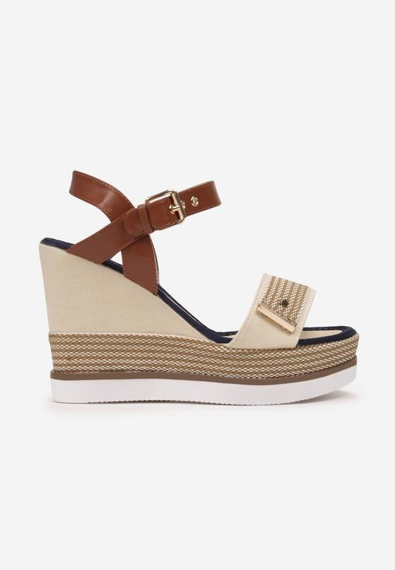 Beżowe Sandały Talogana