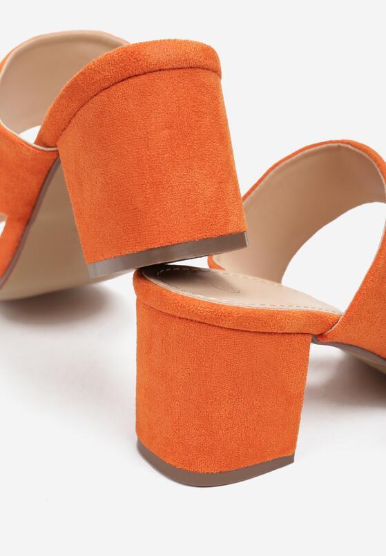 Pomarańczowe Klapki Oriphithoe